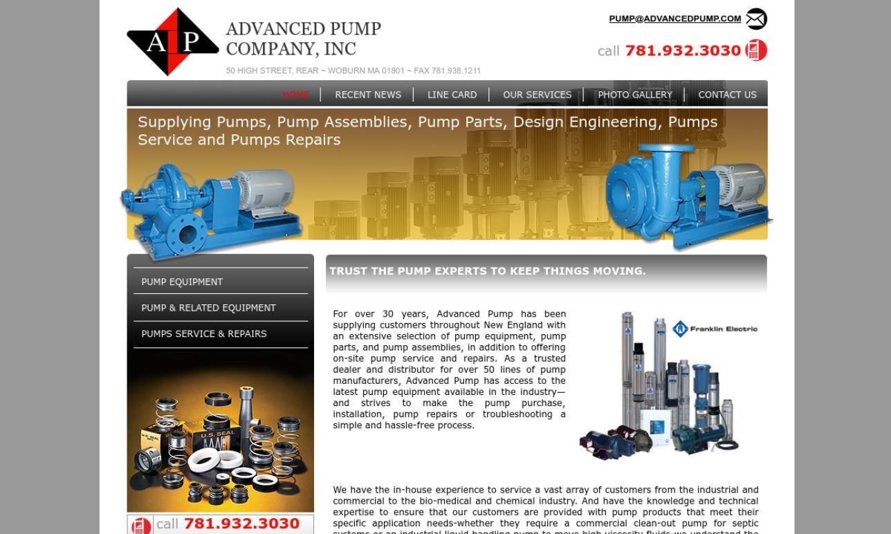 Advanced Pump Company, Inc.