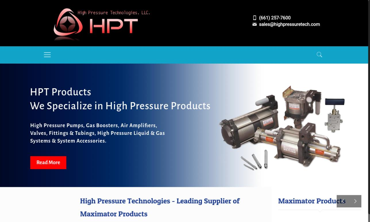 High Pressure Technologies, LLC