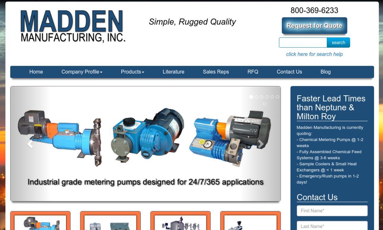Madden Manufacturing, Inc.