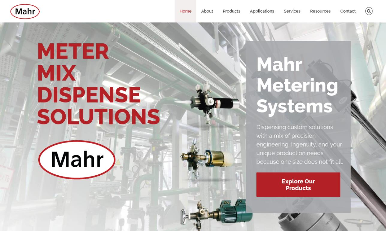 Mahr Metering Systems Corporation