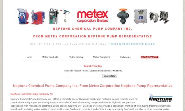 Neptune Chemical Pump Co.