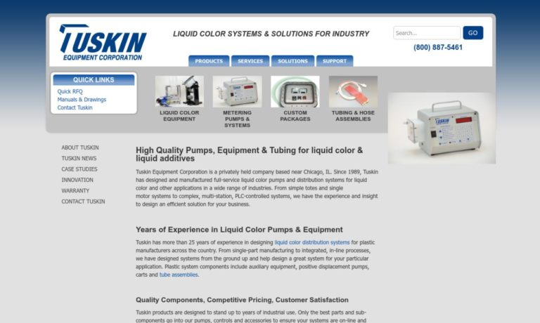 Tuskin Equipment Corporation