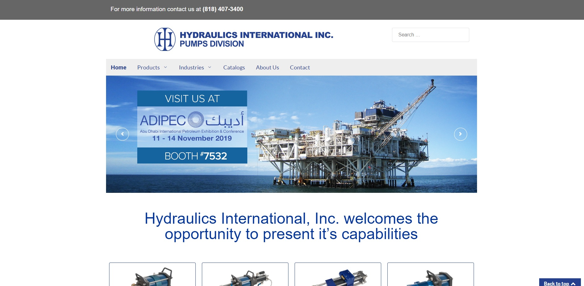 Hydraulics International, Inc.