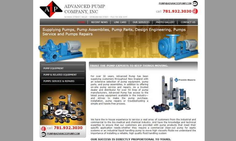 Advanced Pump Company, Inc.